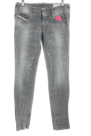 """Diesel Industry Skinny Jeans """"Grupee"""" grau"""