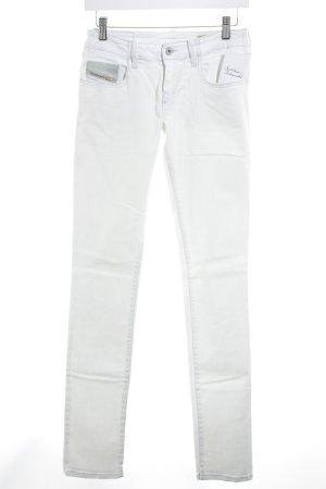 Diesel Industry Skinny Jeans hellbeige Casual-Look