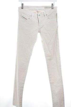 Diesel Industry Jeans skinny beige chiaro stile casual