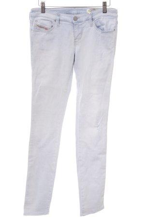 Diesel Industry Skinny Jeans hellblau Casual-Look
