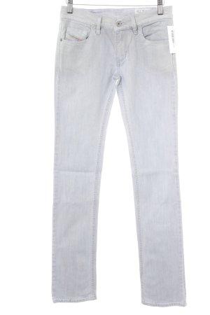 Diesel Industry Skinny Jeans hellgrau Casual-Look