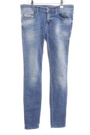 Diesel Industry Skinny Jeans kornblumenblau-himmelblau Casual-Look