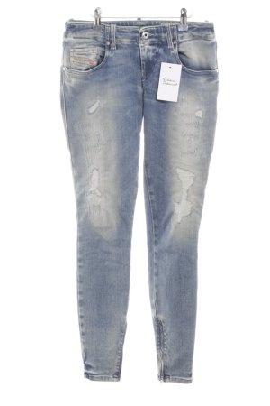 """Diesel Industry Slim Jeans """"Grupee-Zip"""" blau"""