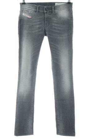 Diesel Industry Slim Jeans hellgrau Casual-Look