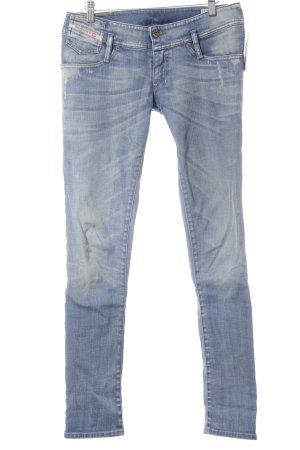 Diesel Industry Slim Jeans blassblau Casual-Look