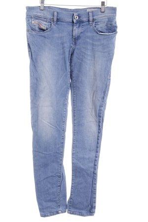 Diesel Industry Slim Jeans blassblau-graublau Washed-Optik