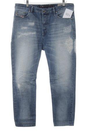 Diesel Industry Slim Jeans blau-himmelblau Casual-Look