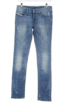 Diesel Industry Slim Jeans blau Washed-Optik