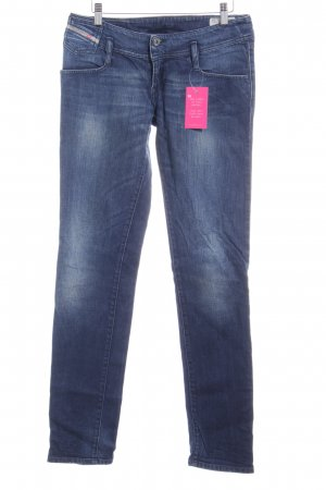 Diesel Industry Slim Jeans blau Washed-Optik