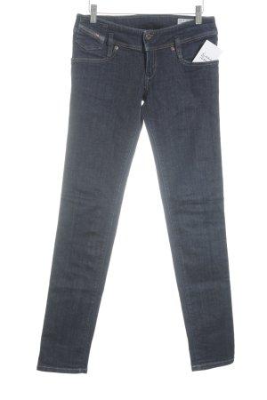 Diesel Industry Slim Jeans dunkelblau Casual-Look