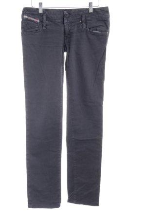 Diesel Industry Slim Jeans dunkelgrau Casual-Look