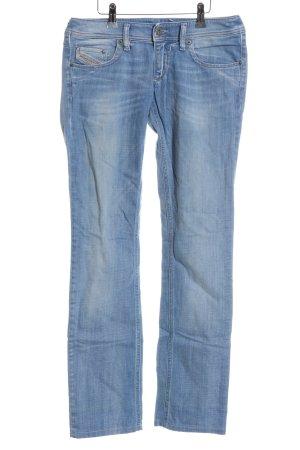 Diesel Industry Slim Jeans blau Street-Fashion-Look