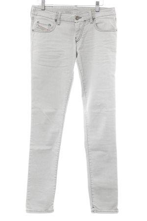 Diesel Industry Slim jeans lichtgrijs simpele stijl