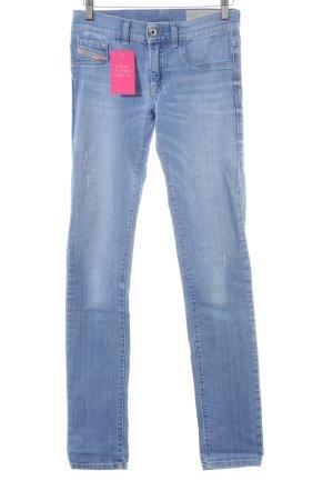 Diesel Industry Slim Jeans himmelblau Casual-Look