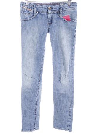 Diesel Industry Slim Jeans himmelblau Used-Optik