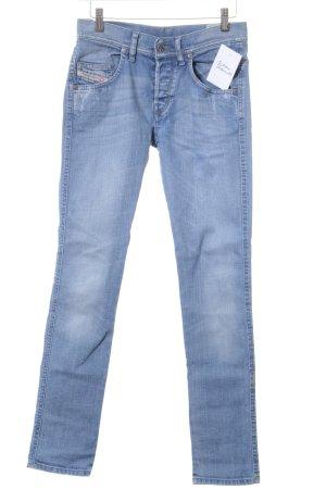 Diesel Industry Slim Jeans kornblumenblau Casual-Look