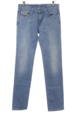 Diesel Industry Slim Jeans kornblumenblau-himmelblau Casual-Look