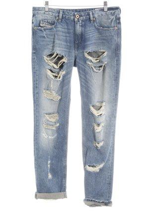 Diesel Industry Slim Jeans kornblumenblau Jeans-Optik