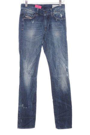 Diesel Industry Slim Jeans mehrfarbig Used-Optik