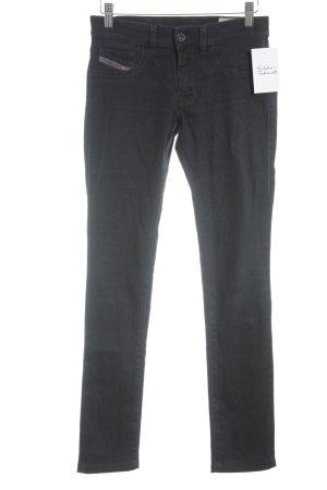 Diesel Industry Slim Jeans schwarz Casual-Look