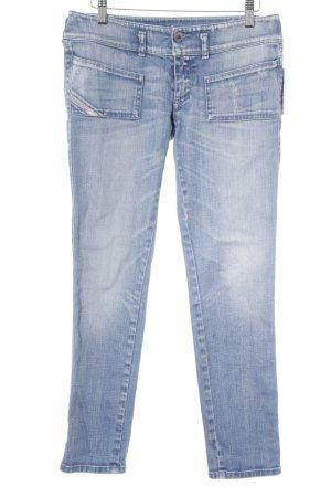 Diesel Industry Slim Jeans stahlblau Casual-Look