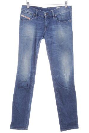Diesel Industry Slim Jeans stahlblau Washed-Optik
