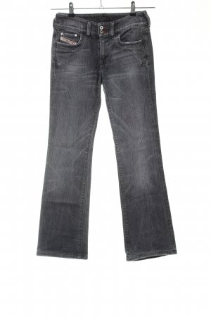 Diesel Industry Straight-Leg Jeans hellgrau Casual-Look