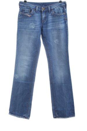 Diesel Industry Straight-Leg Jeans blau Casual-Look