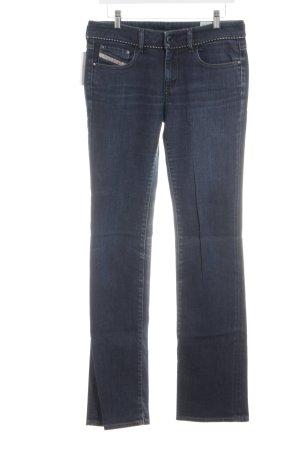 Diesel Industry Straight-Leg Jeans blau Jeans-Optik