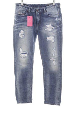 "Diesel Industry Straight-Leg Jeans ""Rizzo"" blau"