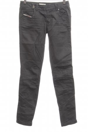 Diesel Industry Straight-Leg Jeans anthrazit Casual-Look