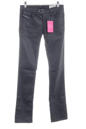 """Diesel Industry Straight-Leg Jeans """"Livy-Biker"""" schwarz"""