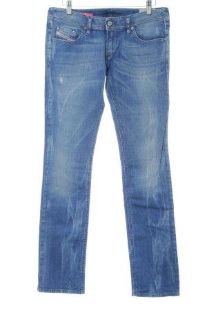 """Diesel Industry Straight-Leg Jeans """"Lowky"""" blau"""