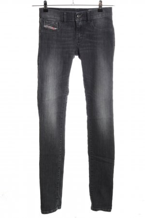 Diesel Industry Stretch Jeans black casual look