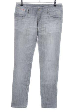 Diesel Industry Stretch Jeans hellgrau Casual-Look