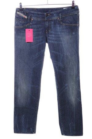 Diesel Industry Stretch Jeans blau Casual-Look