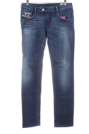 Diesel Industry Stretch Jeans blau Farbverlauf Casual-Look