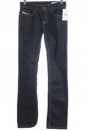 Diesel Industry Stretch Jeans dunkelblau Casual-Look