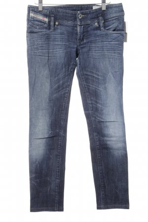 Diesel Industry Stretch Jeans dunkelblau Jeans-Optik