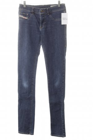 Diesel Industry Stretch Jeans dunkelblau schlichter Stil