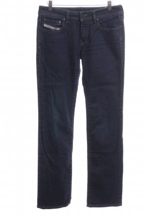 Diesel Industry Stretch Jeans blau Casual-Look