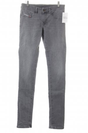 Diesel Industry Stretch Jeans grey simple style