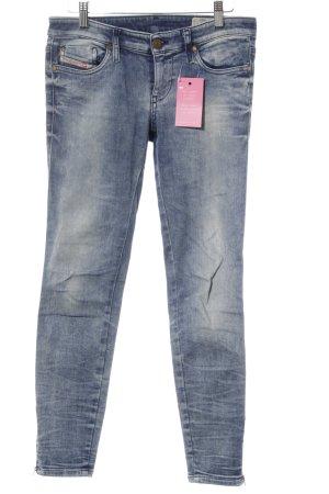Diesel Industry Stretch Jeans graublau sportlicher Stil