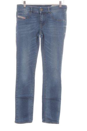 Diesel Industry Stretch Jeans kornblumenblau Casual-Look