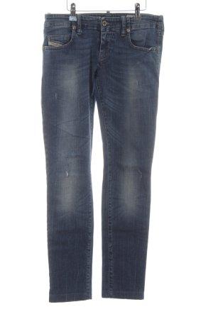 Diesel Industry Stretch Jeans kornblumenblau-himmelblau Casual-Look