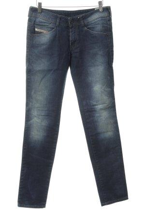 Diesel Industry Stretch Jeans kornblumenblau Jeans-Optik