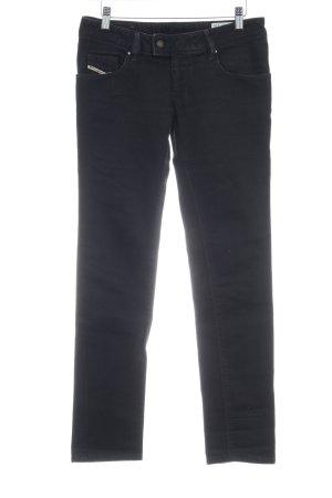 Diesel Industry Stretch Jeans black casual look