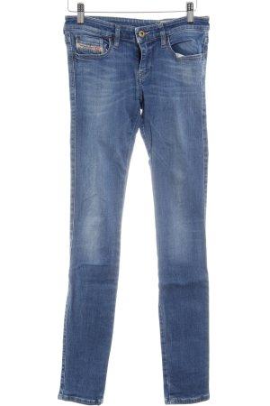 Diesel Industry Stretchhose graublau Jeans-Optik