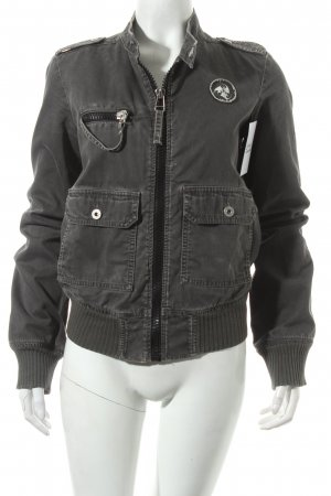 Diesel Jacke grau extravaganter Stil