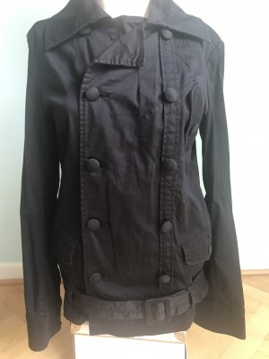 DIESEL Jacke mit Hüftgürtel, zweireihiger Knopfleiste